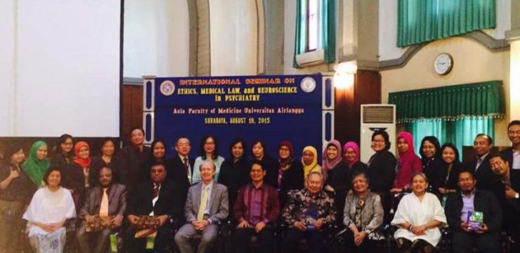 International Seminar on Ethics, Medical Law, and Neuroscience in Psychiatry