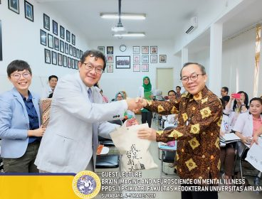 Kerjasama Departemen Psikiatri FK UNAIR dengan National Cheng Kung University dalam Proyek REBAMP  (Research and Education Center of Bridging Asian Mental Health and Psychiatry)